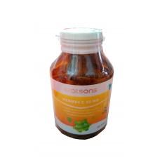 Тайский продукт Аскорбиновая кислота – Витамин C в таблетках Watsons Vitamin C 50 MG купить из Таиланда в интернет-магазине - Thai Brand