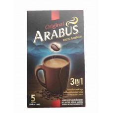 Растворимый кофе 3 в 1 Arabus, 100% Arabica, 3 in 1