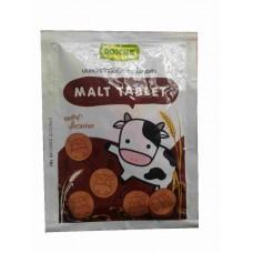 Молочные таблетки из сухого молока плюс шоколад и колос - Malt Tablet Roscela