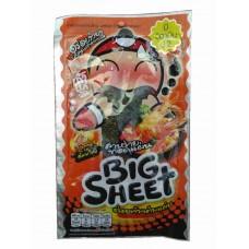 Хрустящие жареные водоросли Нори Big Sheet Tom Yum, 3,5 гр