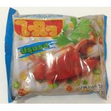 Лапша Фунчоза быстрого приготовления с крабовым вкусом WaiWai, 55 гр