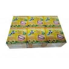 Тайская отбеливающая зубная паста Ананас Джинда Jinda