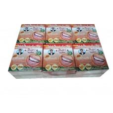 Тайская отбеливающая зубная паста Дыня - Джинда Jinda