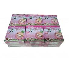 Тайская отбеливающая зубная паста Клубника - Джинда Jinda