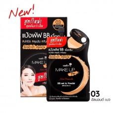Nami Make Up Pro BB влажная пудра SPF 35 PA ++ 7 мл Nami Make Up Pro BB Weightless Powder Creamy