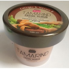 Скраб для лица Тамаринд с коллагеном и витамином Е Banna, 100 гр