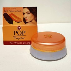 Крем для лица ПАПАЙЯ ЭКСТРАКТ - Beauty White with PAPAYA EXTRACTS - POP, 20 гр