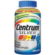 -10% + 11 дней Мультивитаминный комплекс для мужчин старше 50 Centrum Silver® Men 50+ Multivitamin Supplement 275 капсул.