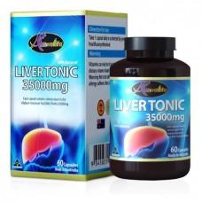 Тоник для печени Auswelllife Liver Tonic 35000 mg. 60 капсул