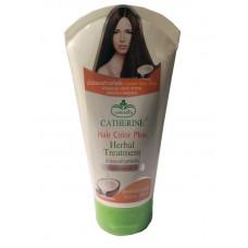 Лечебная Маска для Окрашенных Волос с Кокосовым Маслом Холодного Отжима - Catherine 140 мл