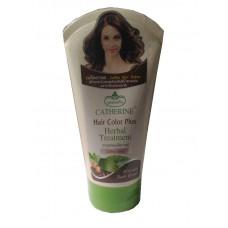 Маска для Темно Коричневых Волос - Herbal Treatment Hair Color Plus, Coffee Seed - Catherine 140 мл