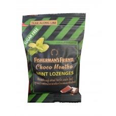 Конфеты-леденцыот кашля мятаи шоколадзнаменитой марки Fisherman's Friends