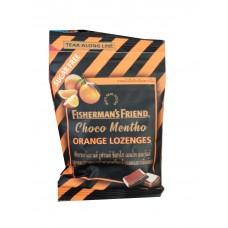 Конфеты-леденцыот кашля апельсин и шоколадзнаменитой марки Fisherman's Friends