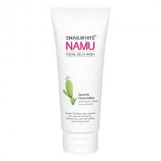 Нежное очищающее желе Namu Life с Фильтратом Улитки и Кактусом