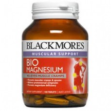 Капсулы с Био Магнием Blackmores Bio Magnesium Relieves Muscle Cramps
