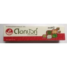 Тайская травяная зубная паста для чувствительных зубов Dok Bua Ku Twin Lotus, 90 гр