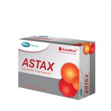 Антиоксидант Астаксантин Mega We Care ASTAX Astaxanthin 4 mg Capsules