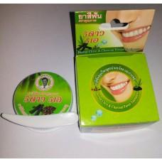 Тайская круглая зубная паста Бамбук, Уголь и Гвоздика - 5 star 5 a, 25 гр