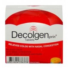 Жаропонижающий и обезболивающий тайский препарат против симптомов простуды и гриппа – Decolgen