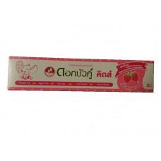 Детская зубная паста Клубничный Вкус - Dok Bua Ku Kids Twin Lotus 35 гр