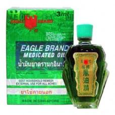 Масло лечебное универсального назначенияс натуральной формулой с хлорофилломEagle Brand Medicated oil
