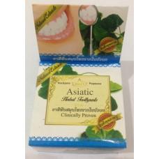 "Тайская травяная отбеливающая зубная паста Asiatic ""Clinicaly Droven"" Rochjana, 30 гр"