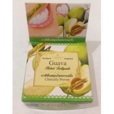 "Тайская травяная отбеливающая зубная паста Guava ""Clinicaly Droven"" Rochjana, 30 гр"