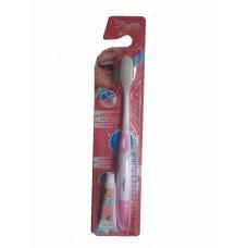 Зубная щетка с супер мягкой щетиной - White & Soft Toothbrush Rasyan