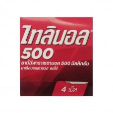 Тайский продукт Таблетки от простуды Тиленол (Tylenol 500mg Paracetamol) купить из Таиланда в интернет-магазине - Thai Brand