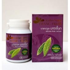 Тайский продукт Капсулы МОМОРДИКА - WANG PROM BALSAM PEAR CAPSULE из Таиланда
