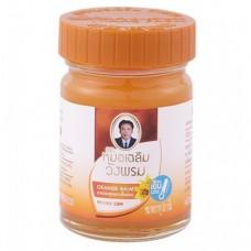 Оранжевый тайский  бальзам Wang Prom, 50 гр