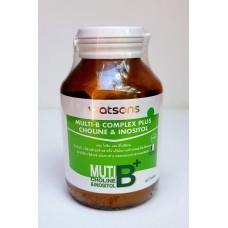 Тайский продукт Мультивитаминный В комплекс + Холин + Инозитол -MULTI - B COMPLEX PLUS CHOLINE & INOSITOL WATSONS купить из Таиланда в интернет-магазине - Thai Brand