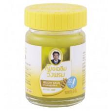 Желтый тайский бальзам Wang Prom, 50 гр