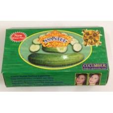 Травяное тайское мыло с Огурцом - Asantee (125 гр)