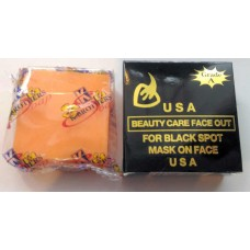 Мыло-маска от черных точек - Beauty Care Face Out For Black Spot Mask On Face K.Brothers U.S.A. -  50 гр