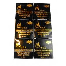 Мыло-маска от черных точек - Beauty Care Face Out For Black Spot Mask On Face K.Brothers U.S.A. - Упаковка 12 штук