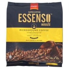 Растворимый кофе 2 в 1 кофе и сливки - Super Coffee Essenso Premix Coffee Blended with Microground Coffee Beans 14g x 15psc