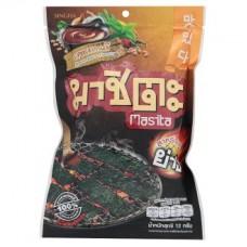 Корейский вкус соуса на гриле водоросли 12г