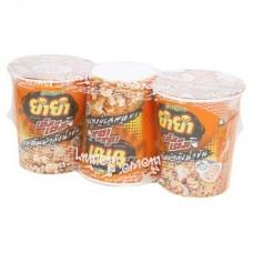 Теа Теа том Ям Кунг сливочный вкус мгновенный Кубок лапша 60г х 3шт