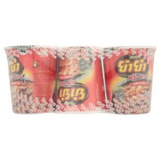 Теа Теа том Ям Кунг ароматизатор чашка лапши быстрого приготовления 60г х 3шт