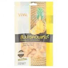 Сладкий Обезвоженный ананас - Pineapple Dehydrated 100g