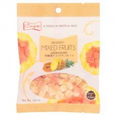 Тайские Фрукты - Preserved Mixed Fruits 120г