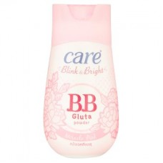 Пудра (тальк) - Care Blink & Bright Miracle Pink BB Gluta Powder 40g