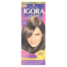 Краска для волос - Igora Colors Caring Formula 5-0 Light Brown Permanent Color Cream 1 Set
