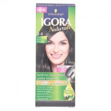 Краска для волос - Igora Naturals 2-0 Natural Black Nutritive Color Cream 1 Set