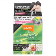 Краска для волос - Lolane Nature N1 Natural Black Color Shampoo 1 Set