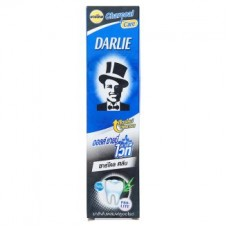 Зубная паста - Darlie All Shiny White Charcoal Clean Toothpaste 140g