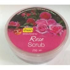 Скраб для тела с экстрактом розы Banna, 250 гр
