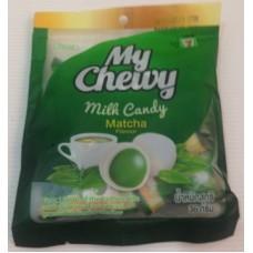 Жевательные молочные конфеты Matcha Flavour, 72 гр