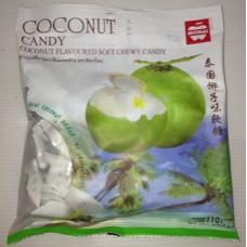 Тайский продукт Жевательные кокосовые конфеты Mitmai, 110 гр из Таиланда